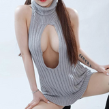 Virgin Killer Hollow Chest Sweater AD11200