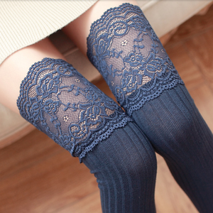 Cute Lace Knee-High Socks AD10090