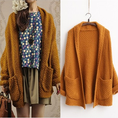 Harajuku Knitted Sweater Cardigan AD10214