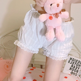 Cute Lace Top + Shorts Pajamas Two-Piece AD10403