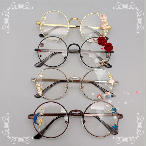 Lolita Harajuku Cosplay Glasses AD12221