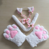 Cosplay Cat Gloves Ear Set AD10451
