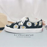 Student Daisy Canvas Shoes AD11336