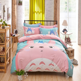 Cute Totoro Anime Bed Sheet Set AD0192