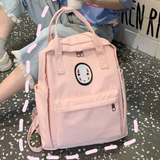 Harajuku No Face Canvas Backpack AD10176