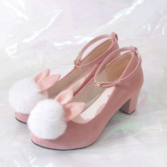 Cute Bunny High Heels Shoes AD11959