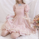 Dusty Pink Fairy Gown Dress AD11310