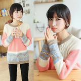 Students Knitting Sweater AD0333