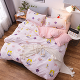 Sailor Moon Bed Sheet 4 Pieces AD11834