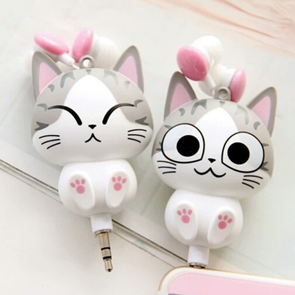 Cute Kitty Earbuds AD10145