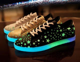 Fashion Kawaii Stars Luminous Sneakers  AD3520