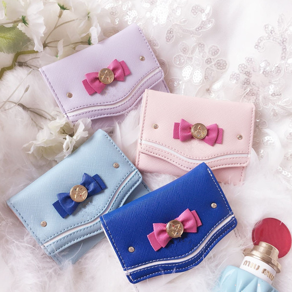 Sailor Moon Bowknot Fold Wallet AD10329