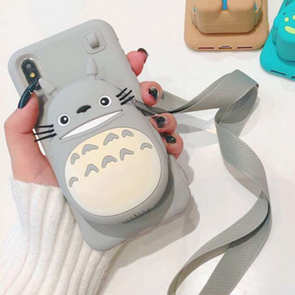 Anime Totoro Bear Phone Case AD10373