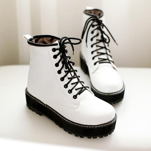 New Style Lace Casual Boots AD0173