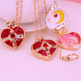 Sailor Moon Heart Necklace AD12142
