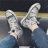 One Piece Canvas Shoes AD11034