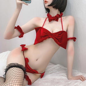 Sweet Sexy Bow Lingerie Set AD12533