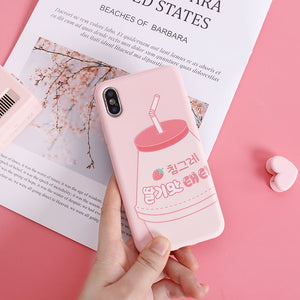 Strawberry Yakult Iphone Case AD11049
