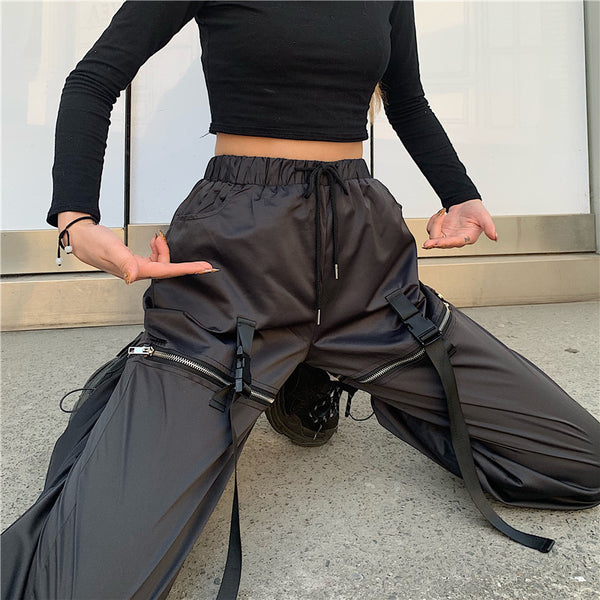 Zipper Street Pants AD11609