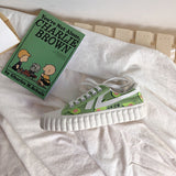 Matcha Green Avocado Canvas Shoes AD11032