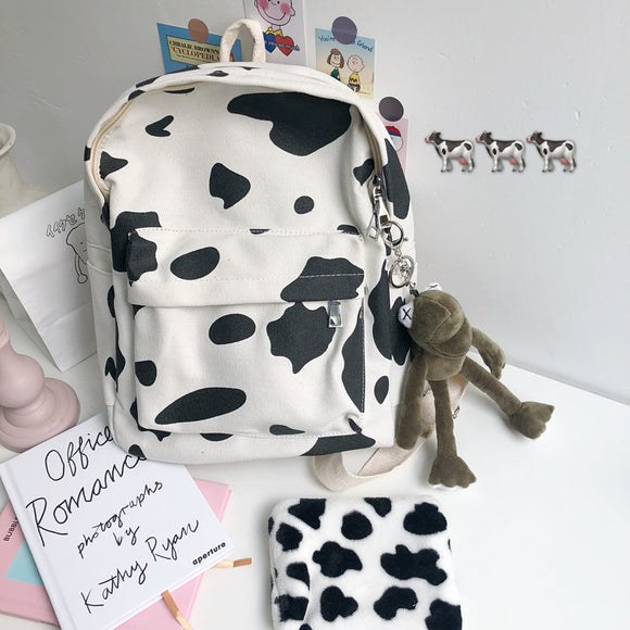 Milk Canvas Backpack AD10345
