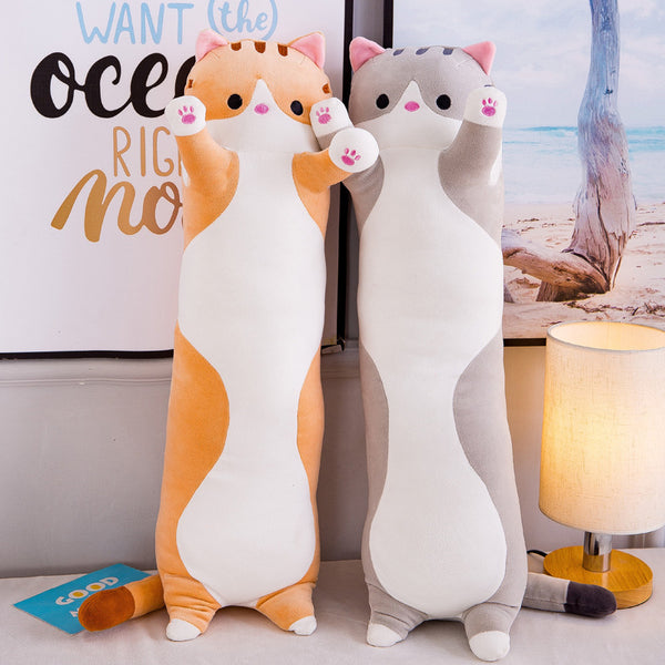 Cute Laying Down Kitty Plushie AD11289