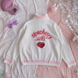 Strawberry Turtleneck Sweater AD11817
