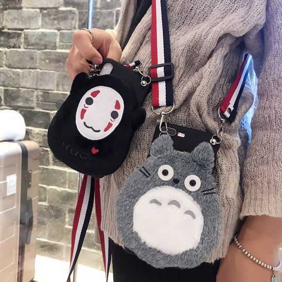 Totoro Bag Phone Case AD10369