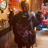 Harajuku Five-Pointed Star Magic Hoodie AD10354