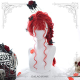 Red Miko Curly Wig AD10991