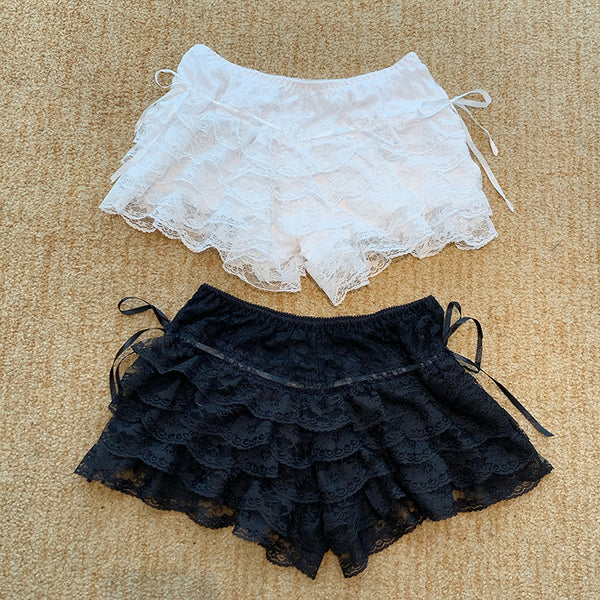Girly Lace Safety Pants Shorts AD10243