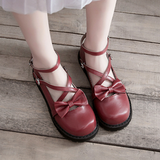 Lolita Bowknot Flat Shoes AD10295