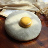 Poached Egg Beret AD10285