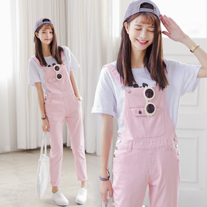 Candy Color Strap Overalls AD10265