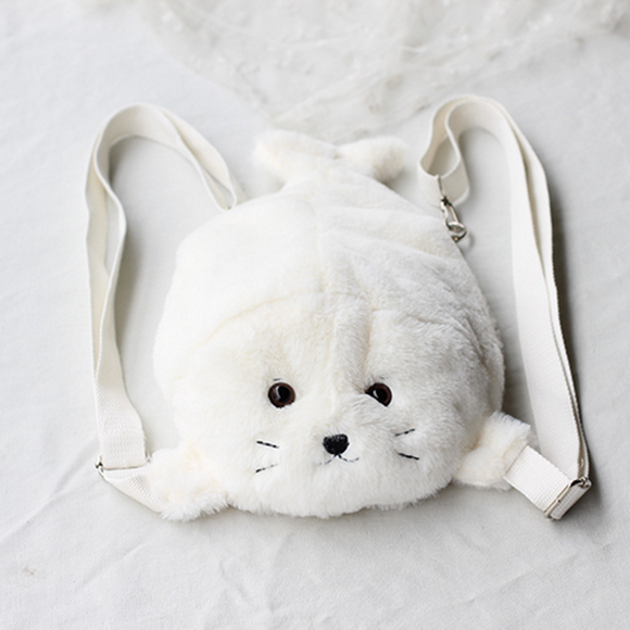 Cartoon Seal Soft Backpack AD10312