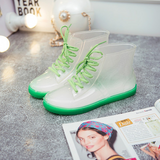 7 Colors Transparent Water Proof Boots AD10156