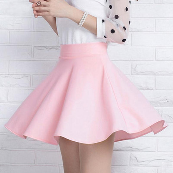 Sweet High Waist A Line Skort AD0198