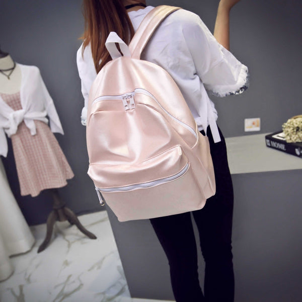 Students Pu Backpack AD0031