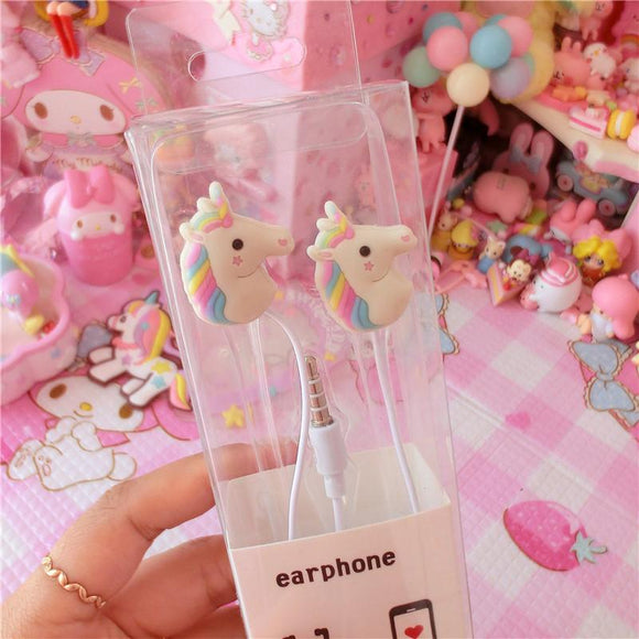Unicorn 3.5mm Earbuds AD10063