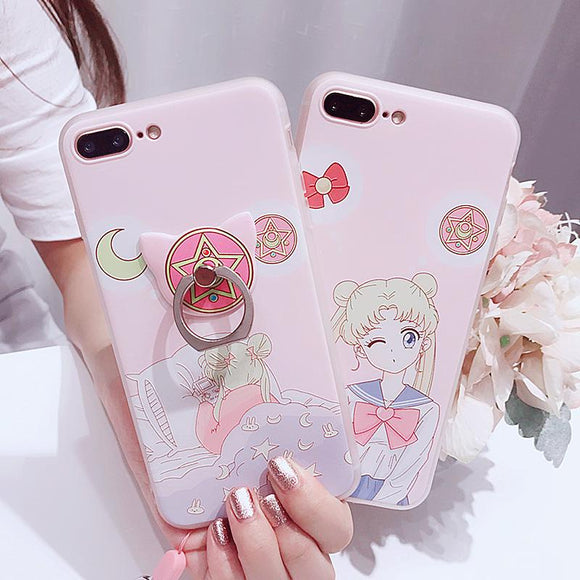 Sailor Moon,Iphone Case,cat,