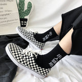 Checkers' Low Top Sneakers AD11333