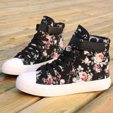 Sweet Flower High Shoes AD10193