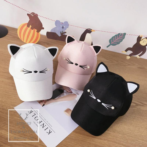 Cute kawaii cat ear hat AD0262