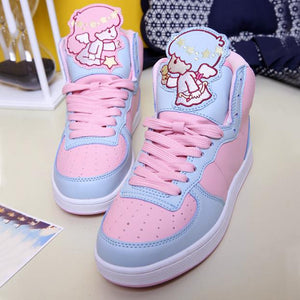 Japanese Cartoon Little Twin Stars Sneakers AD10085