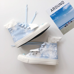 Blue Sky Wings Canvas Shoes AD10657