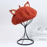 Lovely Fox Ears Beret AD0272
