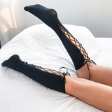 Lace-up Socks AD12039