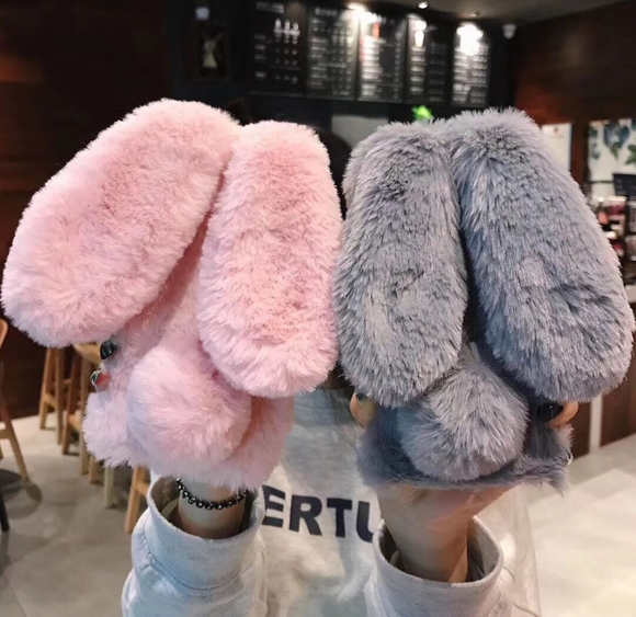 Fluffy Bunny Ears Phone Cases AD10368