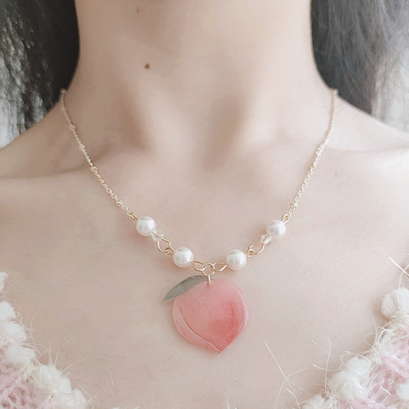 Peach Necklace AD20004