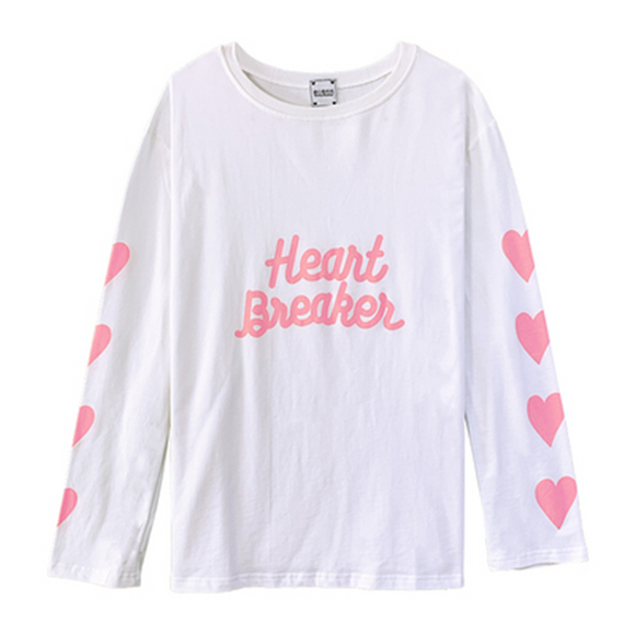 Heartbreaker Long Sleeve T-shirt AD0329